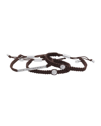 Exclusive Bracelet Bundle, Chocolate