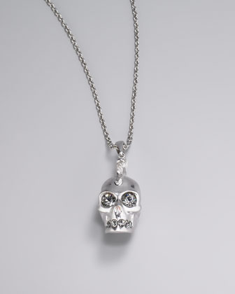 Mohawk Skull Pendant Necklace