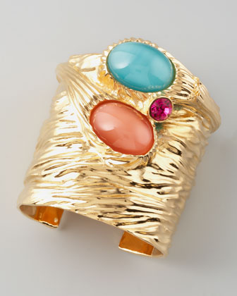 Treasury Three-Stone Cuff