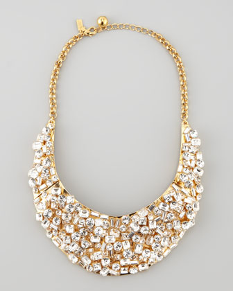 kate spade kaleidoball crystal encrusted necklace at Neiman Marcus image