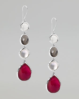 Four-Station Drop Earrings