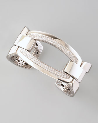 Diamond Classic Chain Link Cuff