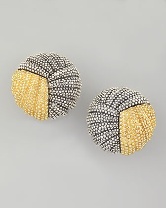 Soiree Button Earrings