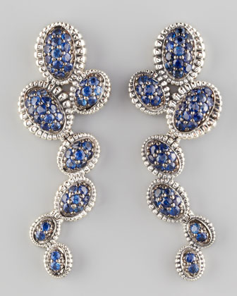 Muse Blue Sapphire Earrings