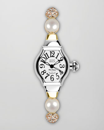 Small Tonneau-Case Jewelry Watch