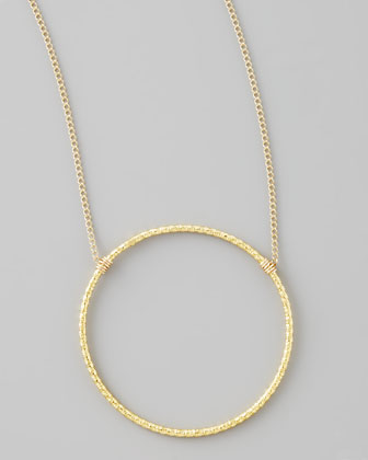 Gold Sparkle Karma Necklace