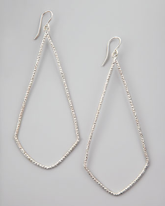 Sparkle Swing Earrings, Silver