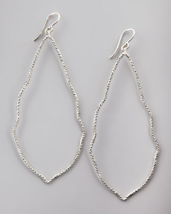 Sparkle Moroccan Earrings, Silver