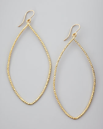 Sparkle Marquise Earrings, Gold