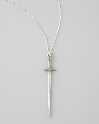 Sonnet of the Sword Necklace, Silvertone