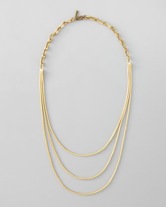 Spaghetti Chorus Layering Necklace