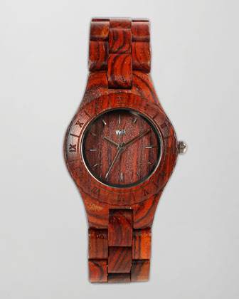Moon Red Wing Celtis Watch, Brown