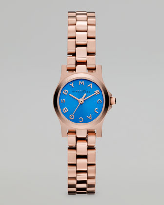 Rose Golden Sunray Watch, Maliblue