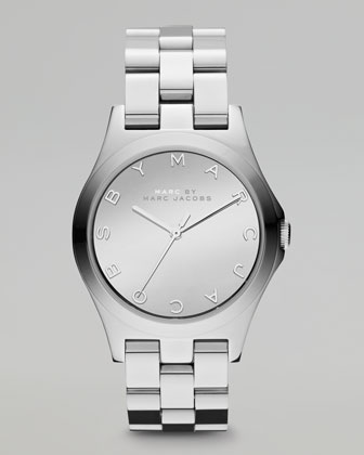 Stainless Steel Watch, 36.5mm