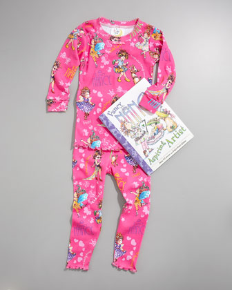Fancy Nancy Pajama and Book Set