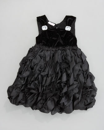 Ruffled Dress, Sizes 2T-4T