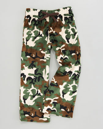 Camouflage Fleece Lounge Pants