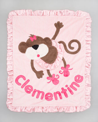 Hanging Around Blanket, Personalized