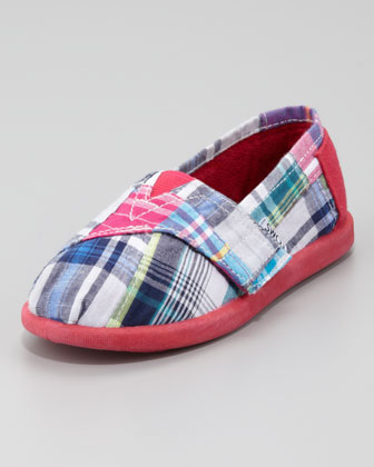 Reese Madras Slip-On, Tiny