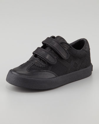 Tonal Check Sneaker, Youth