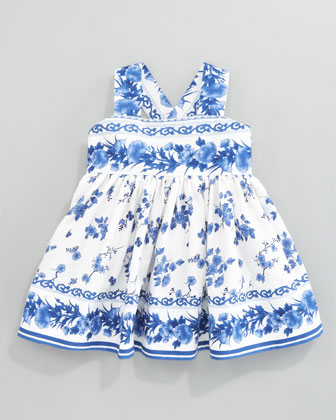Porcelain Sundress, Sizes 2T-3T