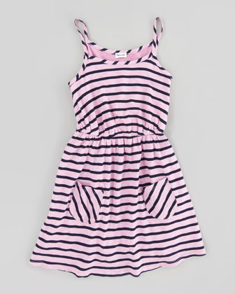 Miami Striped Dress, Sizes 4-6X