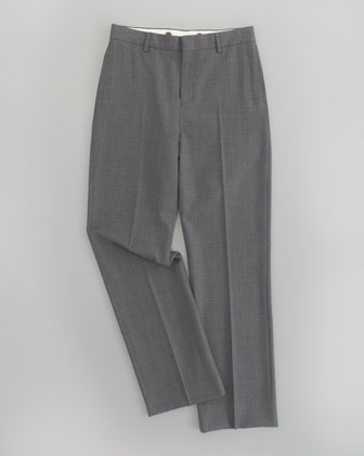 Flat Front Woodsman Trousers