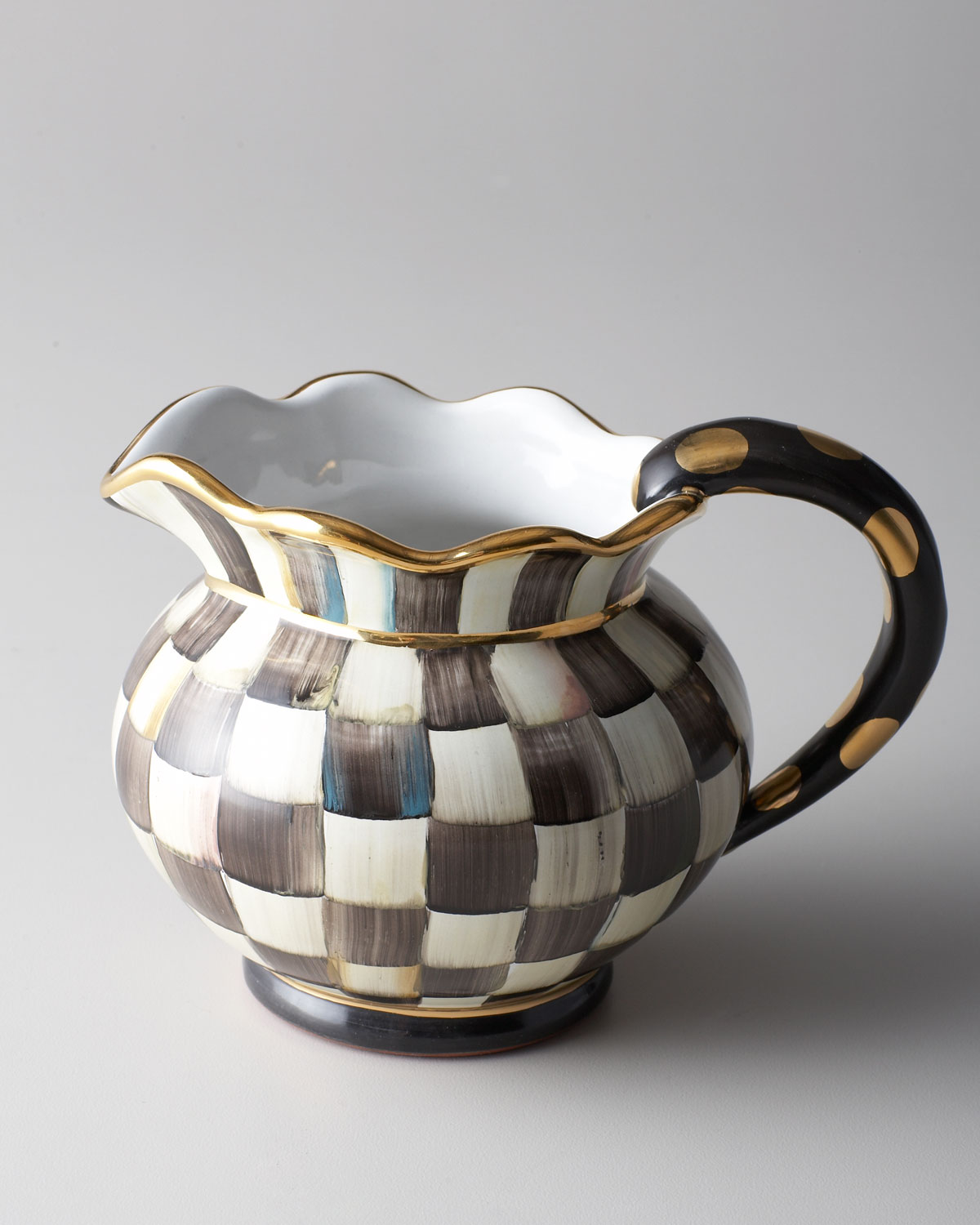 Courtly Check Pitcher